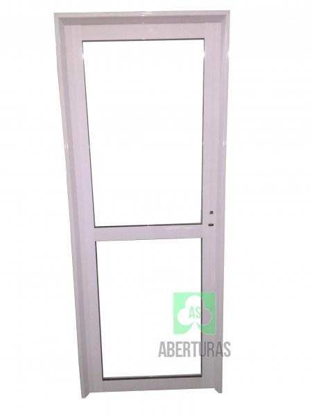 Puerta aluminio herrero puerta aluminio herrero 70x2 - Puerta de aluminio y vidrio ...