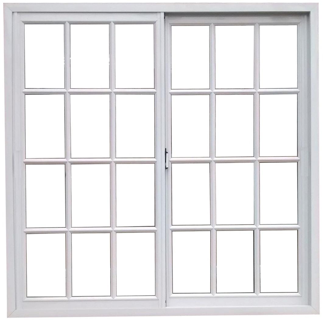 Ventanas herrero blanco 4mm vidrio repartido ventana for Marcos de ventanas de aluminio